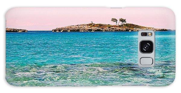 Island Tree Couple Galaxy Case