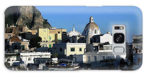 Isle Of Capri - Skyline Galaxy Case