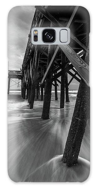 Isle Of Palms Pier Water In Motion Galaxy Case