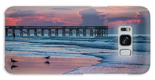 Isle Of Palms Morning Galaxy Case