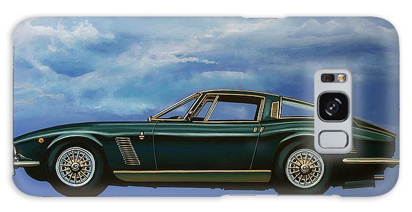 Motor Galaxy Case - Iso Grifo Gl 1963 Painting by Paul Meijering