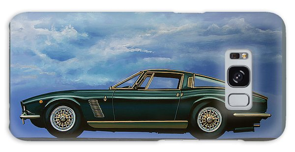 Coupe Galaxy Case - Iso Grifo Gl 1963 Painting by Paul Meijering