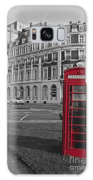 Isolated Phone Box Galaxy Case