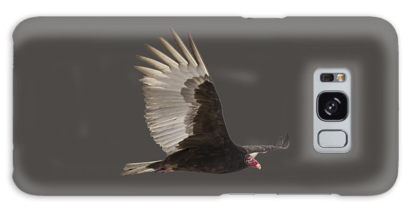Isolated Turkey Vulture 2014-1 Galaxy Case by Thomas Young