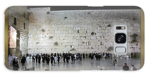 Israel Western Wall - Our Heritage Now And Forever Galaxy Case