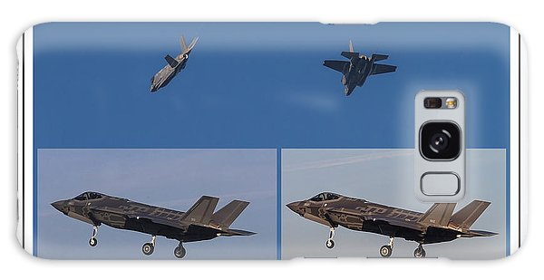 Israeli Air Force First Two F-35i Adir Galaxy Case