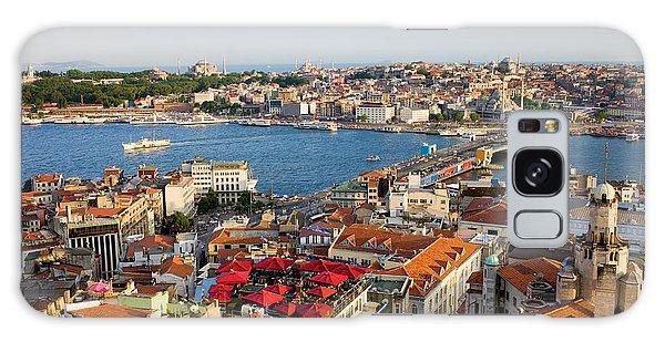 Istanbul Cityscape Galaxy Case