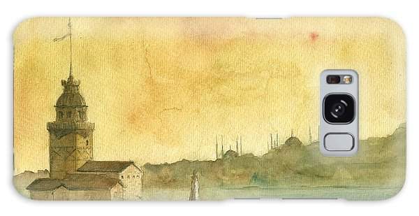 Turkey Galaxy Case - Istanbul Maiden Tower by Juan Bosco
