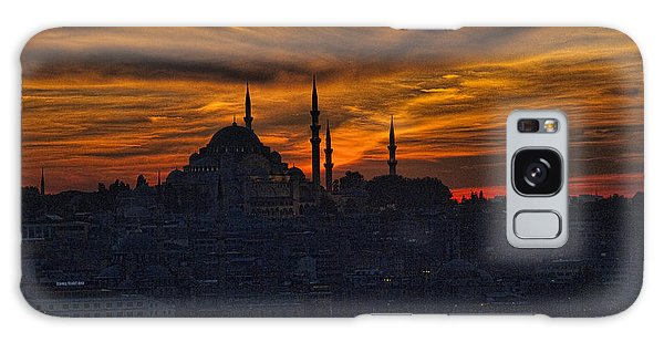 Istanbul Sunset - A Call To Prayer Galaxy Case