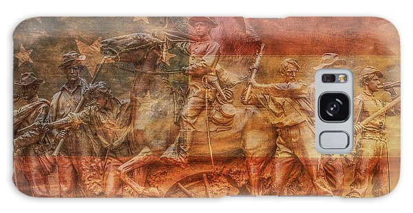 Us Civil War Galaxy Case - It Is History That Teaches Us To Hope by Randy Steele