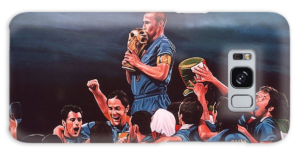 Sportsman Galaxy Case - Italia The Blues by Paul Meijering