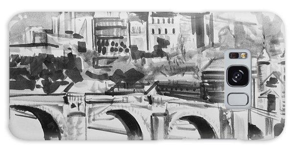 Italian Bridge Galaxy Case by John Keaton