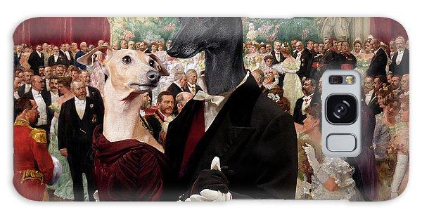 Italian Greyhound Art Canvas Print - Beautiful City Dance Hall Vienna Wilhelm Gause Galaxy Case