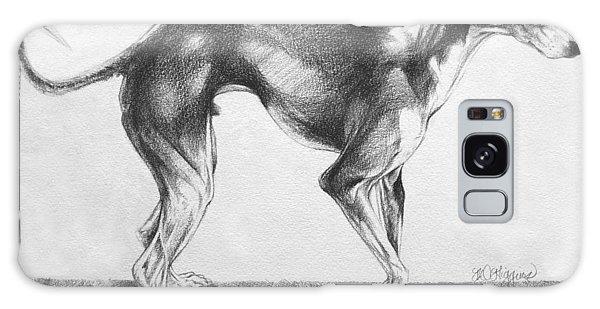 Sighthound Galaxy Case - Italian Greyhound by Derrick Higgins