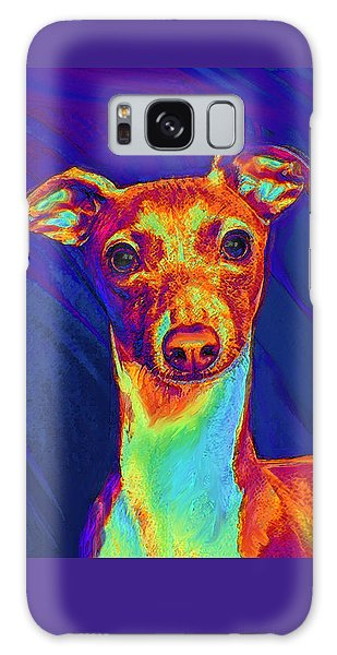Italian Greyhound  Galaxy Case by Jane Schnetlage