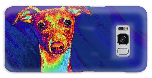 Sighthound Galaxy Case - Italian Greyhound  by Jane Schnetlage