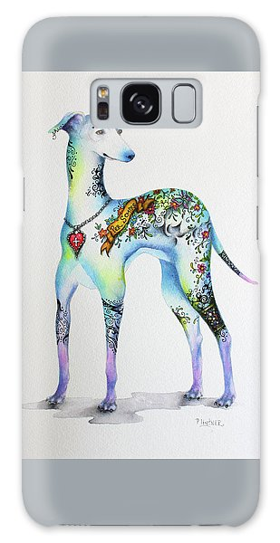 Italian Greyhound Tattoo Dog Galaxy Case