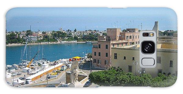Italian Harbor- Brindisi, Apulia Galaxy Case