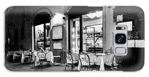 Italian Restaurant In Lucca, Italy Galaxy Case