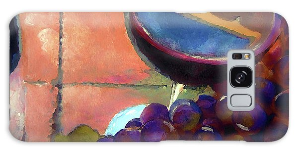 Italian Tile And Fine Wine Galaxy Case by Lisa Kaiser