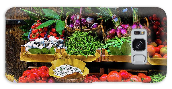 Italian Vegetables  Galaxy Case by Harry Spitz