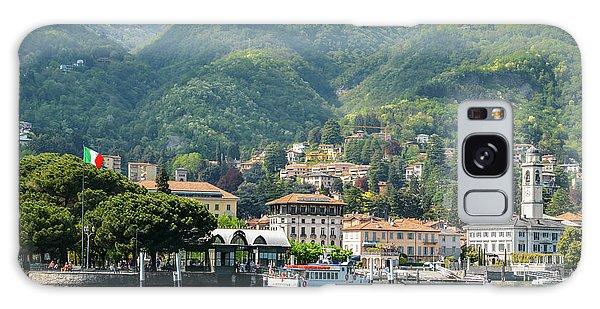 Italian Village On Lake Como Galaxy Case