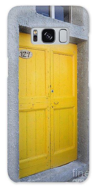 Italy - Door Three Galaxy Case