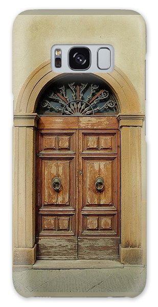 Italy - Door One Galaxy Case