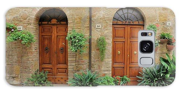 Italy - Door Seventeen Galaxy Case
