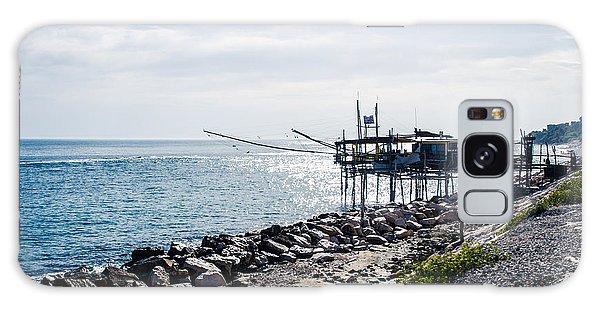 Italy - The Trabocchi Coast 2  Galaxy Case by Andrea Mazzocchetti