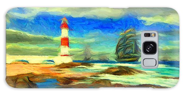 Itapua Lighthouse 1 Galaxy Case