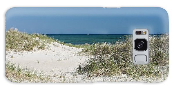 It's A Cape Cod Kind Of Day Galaxy Case by Michelle Wiarda