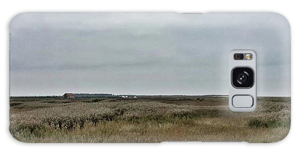 It's A Grey Day In North Norfolk Today Galaxy Case by John Edwards