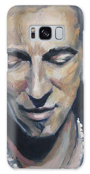 Bruce Springsteen Galaxy Case - It's Boss Time II - Bruce Springsteen Portrait by Khairzul MG