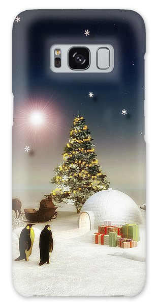 It's Christmas Time Galaxy Case