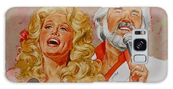 Its Country - 8  Dolly Parton Kenny Rogers Galaxy Case