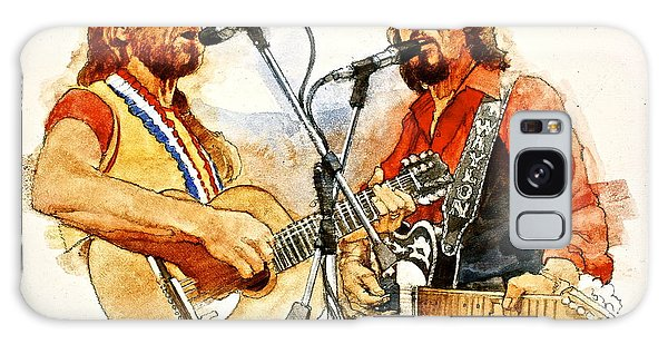 Its Country - 7  Waylon Jennings Willie Nelson Galaxy Case