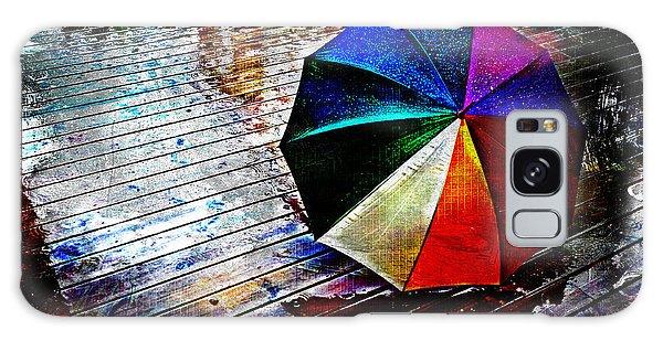 It's Raining Again Galaxy Case by Randi Grace Nilsberg