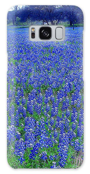 It's Spring - Texas Bluebonnets Time Galaxy Case