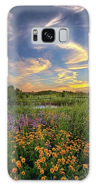 Galaxy Case featuring the photograph It's Time To Relax by Phil Koch