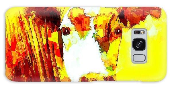 Yellow Cow Galaxy Case