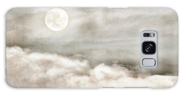 Ivory Moon Galaxy Case