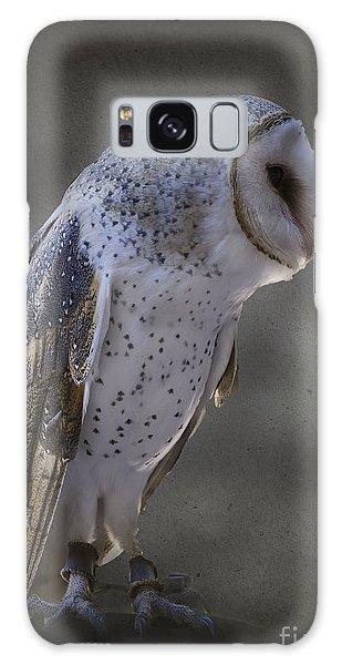 Ivy The Barn Owl Galaxy Case