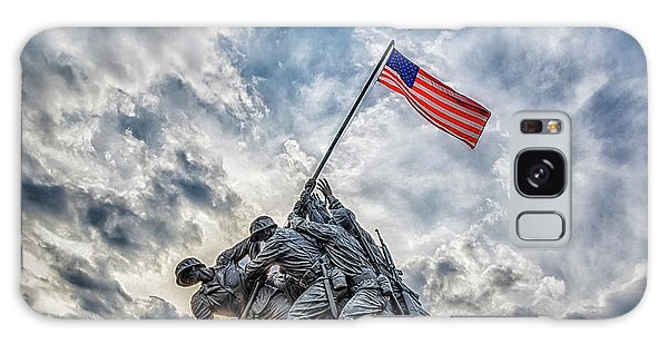 Galaxy Case featuring the photograph Iwo Jima Memorial by Susan Candelario