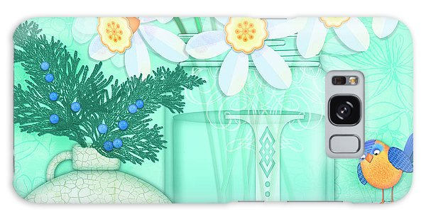 Jug Galaxy Case - J Is For Jar Of Jonquils by Valerie Drake Lesiak