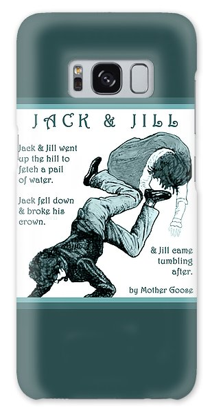 Jack And Jill Vintage Mother Goose Nursery Rhyme Galaxy Case