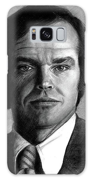 Jack Nicholson Portrait Galaxy Case