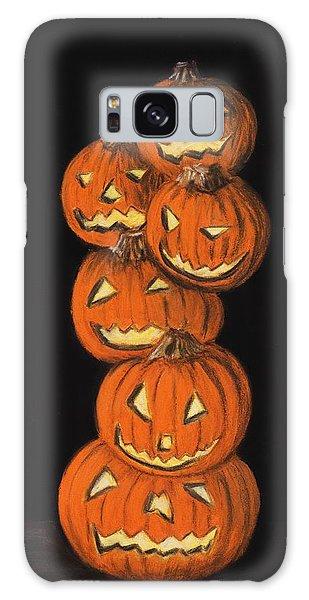 Halloween Galaxy Case - Jack-o-lantern by Anastasiya Malakhova