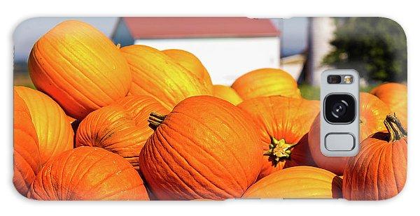 Jack-o-lantern Pumpkins At Farm Galaxy Case
