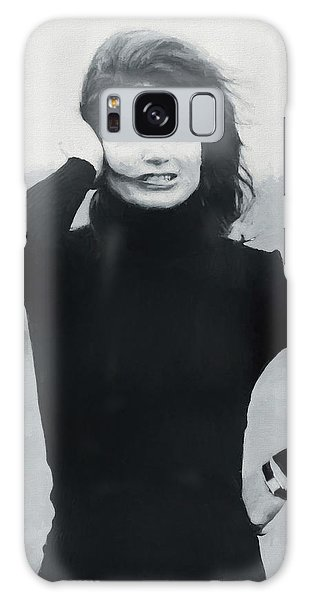 Jackie Kennedy - Painting Galaxy Case
